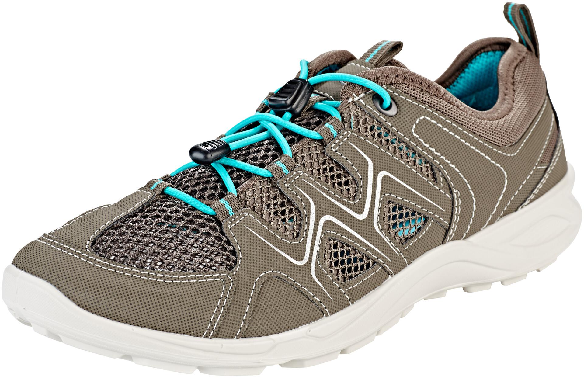 ECCO Terracruise LT Shoes Damen warm greydark clayturquoise